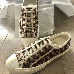 Dior embroidered sneaker